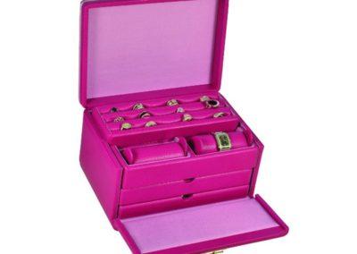 jewelry box leather ladies women luxury 4