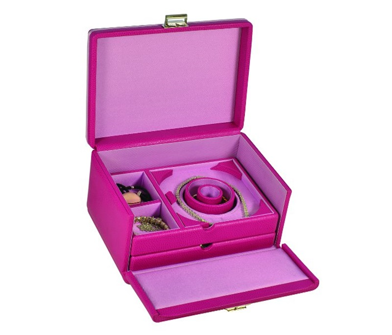 jewelry box leather ladies women luxury