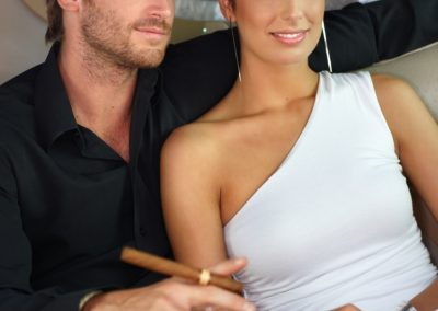 couple cigar limo