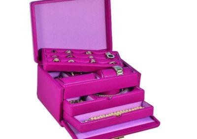jewelry box leather ladies women cougar luxury